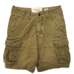 Abercrombie & Fitch Mens Cargo Chino Shorts 31